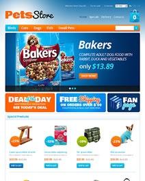 Ce template e-commerce Clicboutic conviendra à la vente en ligne de produits pour animaux