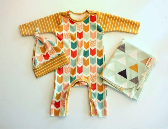 take home outfit, hat and swaddle blanket... the perfect gift bundle for newborn.. pellerinadesign.etsy.com