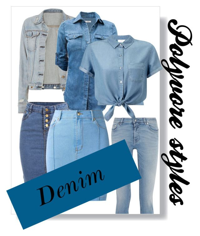 """""""Polyvore styles, denim"""" by russell-mina on Polyvore featuring Givenchy, rag & bone, Amapô and Miss Selfridge"""