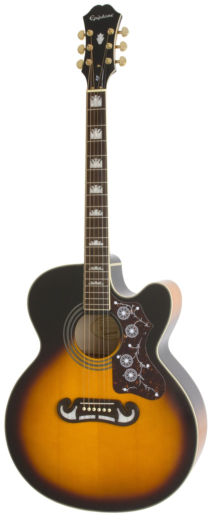 Epiphone EJ-200CE Electro Acoustic Guitar Vintage Sunburst #epiphone #acoustic #guitar The cheaper alternative to the Gibson J200 Standard