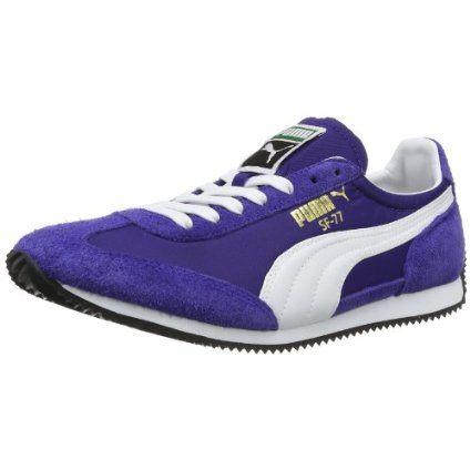 Roma Suede, Sneakers Basses Mixte Adulte, Bleu (Peacoat White Team Gold-Amazon Green), 37 EUPuma