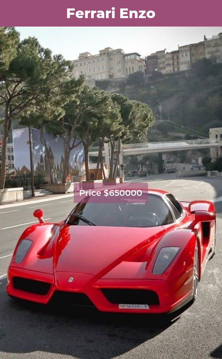 the ferrari enzo acceleration 0 60mph in 3 14sec enzo ferrari rh pinterest com