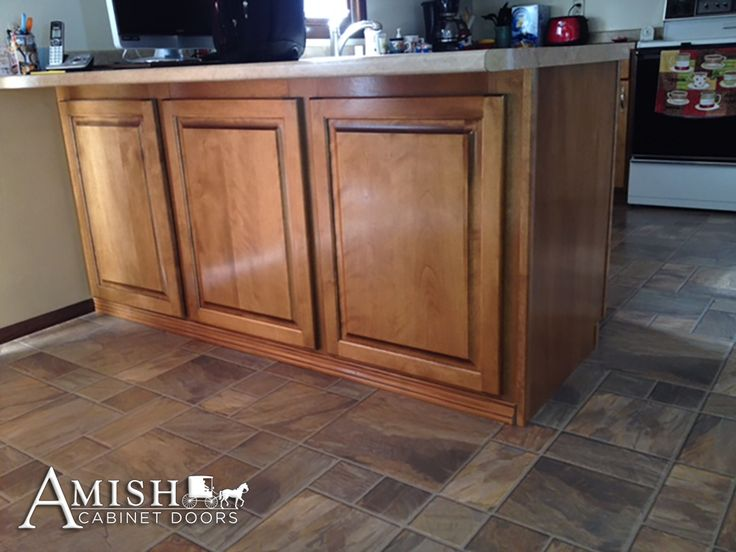 False Doors Are A Great Way To Dress Up A Cabinet Where