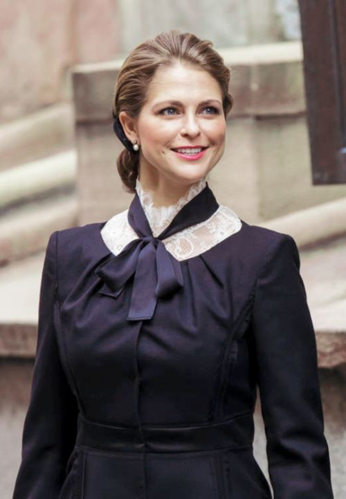 """oneillsofsweden: """" """"Princess Madeleine attends the opening of the Swedish…"""