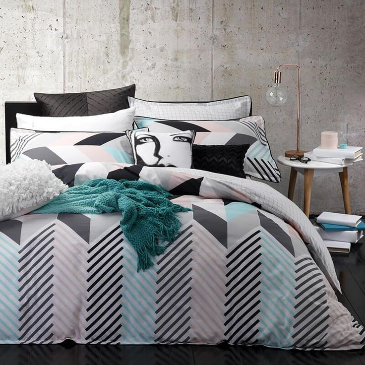 Rio Mint Duvet Cover Set