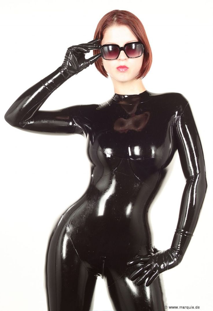 how to clean a latex cat suit
