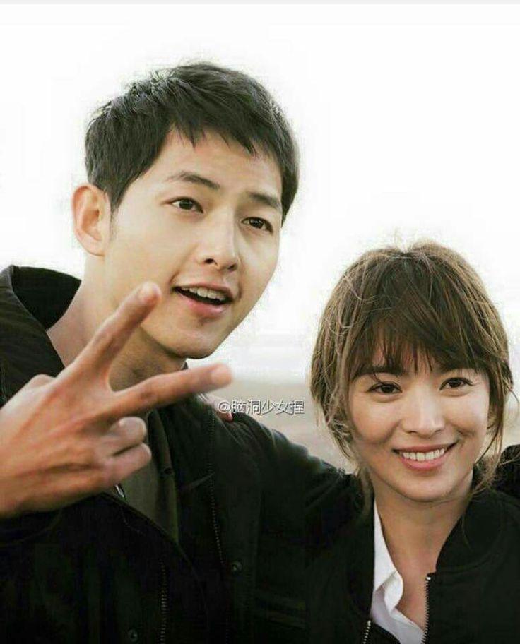#descendants of the sun BTS #song joong ki #song hye gyo