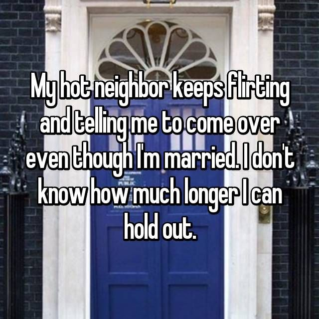 er min flirting mig ........ nabo med