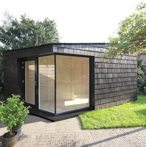 Pretty Architecture -Garden studio  Dutch office Serge Schoemaker... -