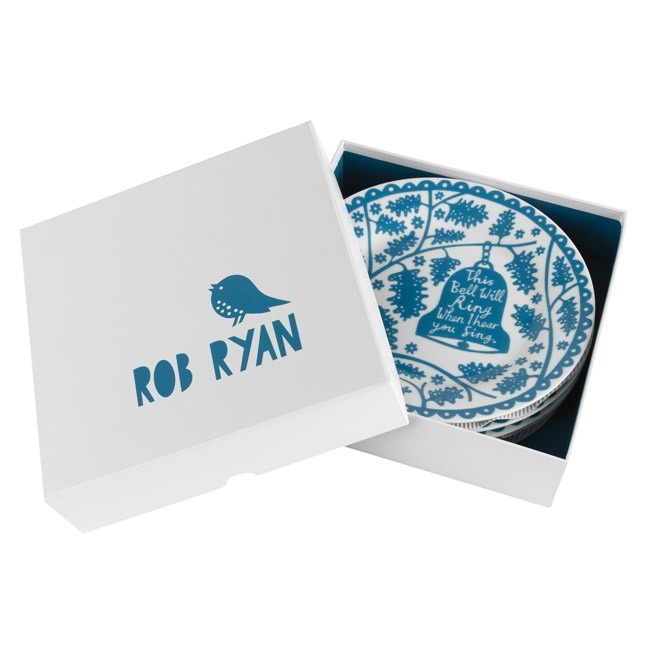 Rob Ryan 'Bells' Plate Set