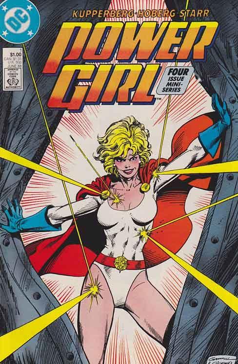 Power Girl (1988) Vol. 1 DC Comics. Paul Kupperberg Script. Dick Giordano Cover Artist.