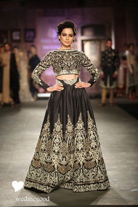 Anju-modi-india-couture-week-2014 #lehenga