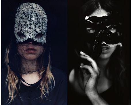 MaskedBlack Lace