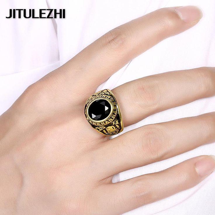 보석 unisex 보석에 대한 지르콘 티타늄 스틸 반지 anel masculino 무료 배송 Luxurious 낭만주의 돈을 장식품을 잃을
