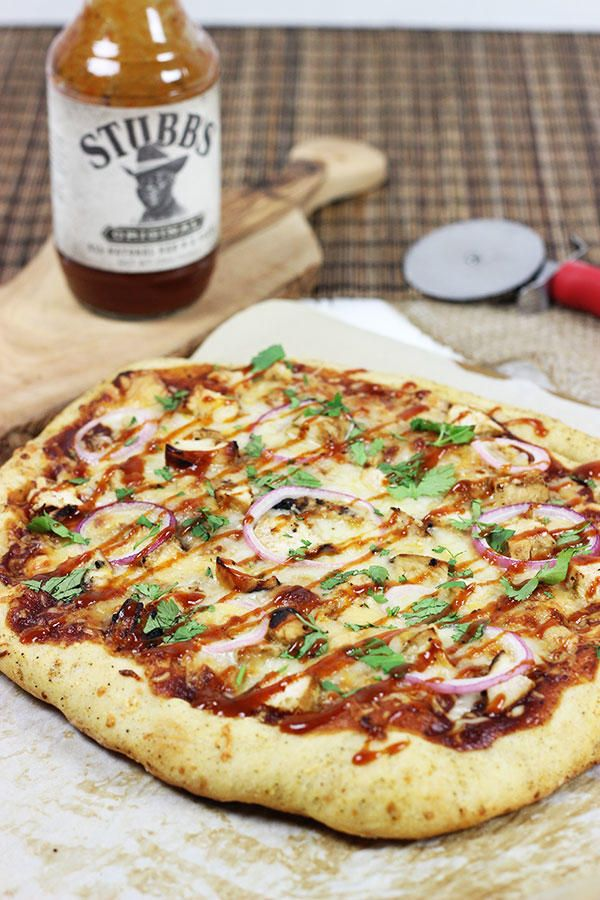 Have BBQ Chicken Pizza at home. Easy to make, easier to eat!