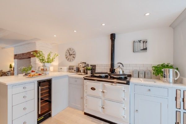 Budding chefs can whip up a storm in the contemporary kitchen with electric Aga