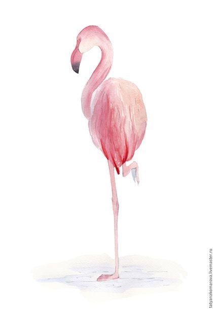 Купить или заказать Картины акварелью 'Фламинго' в интернет-магазине на Ярмарке Мастеров. Серия акварельных минималистичных картин с изображением розовых фламинго. Фламинго - символ исполнения самых сокровенных желаний. Прекрасно впишется в любой интерьер, будет прекрасным подарком к любому празднику. Для вашего удобства серия оформлена в раму с паспарту с защитным стеклом / пластиком.