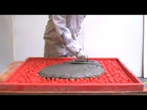 Self Compacting Cast Premix GFRC by Power-Sprays - YouTube