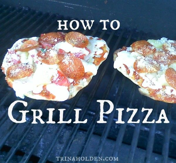 Celebrating With Food, or, How to Grill Pizza