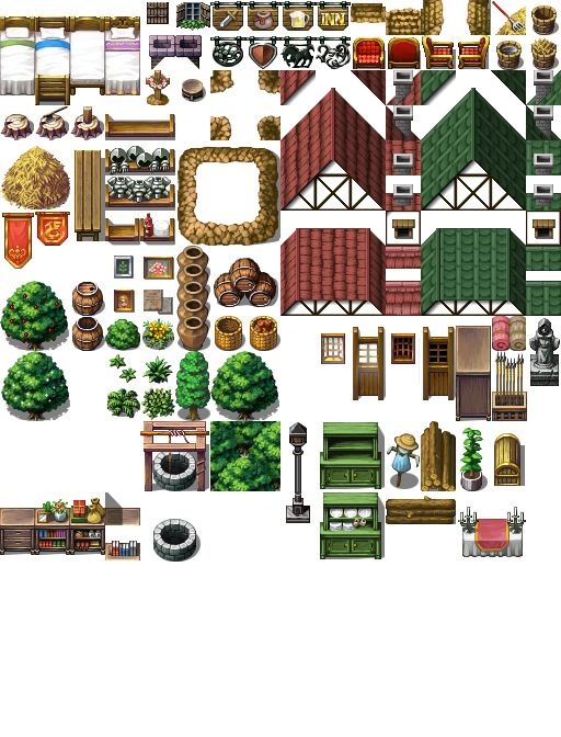 Interior B by SchwarzeNacht RPG assets in 2019 Rpg maker vx