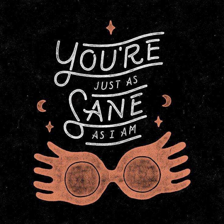 11 quotes de Harry Potter ilustradas pra você se inspirar
