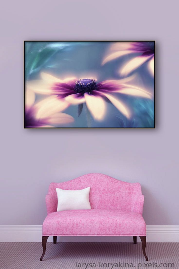 Larysa Koryakina Fine Art Photodraphy. Canvas Print featuring the photograph Summer Dream Flowers by Larysa Koryakina. Photography Art design for Office and Home Decor.