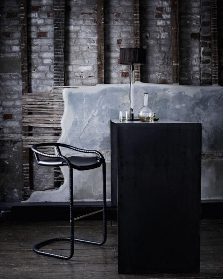 Contemporary furniture lighting and accessory design caribou bar stool
