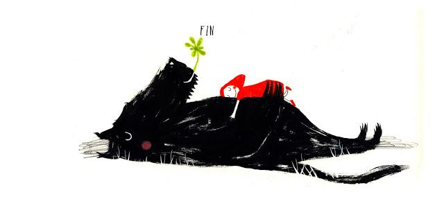 'End' - illustration by Raul Nieto Guridi | book Cecilia Moreno.-