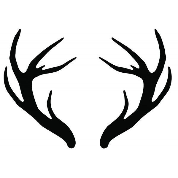 26 Deer Tattoos: Antler Temporary Tattoo Temporary Tattoos More Joelle's