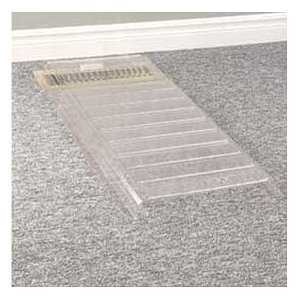 Extenda Vent - redirect air from a vent when furniture is covering it