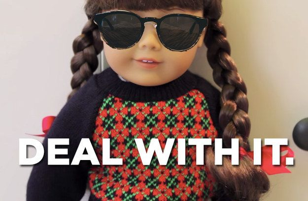 Slay, Molly. | An Important Reminder That Molly Was The Best American Girl Doll Of All Time
