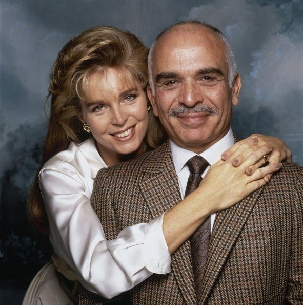 Queen Noor & King Hussein