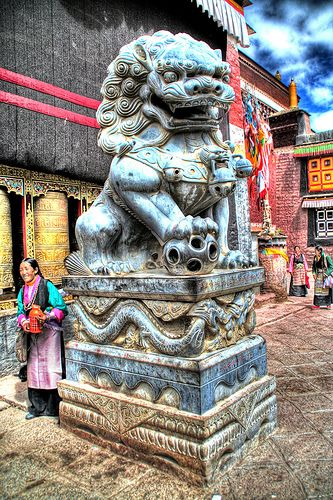La+forza+del+leone sakya-Tibet