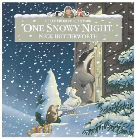 It's a snowy night and Percy the Park keeper is in bed when there is a knock at the door. Another knock follows and another and another! Written and illustrated by Nick Butterworth