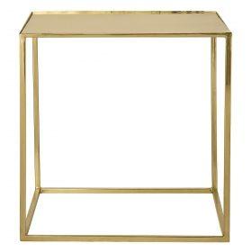 Soffbord Fyrkantigt - Guld i gruppen Bord / Sidobord hos Reforma Sthlm  (48400016)