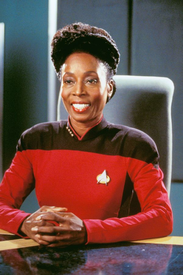 Image result for madge sinclair on star trek