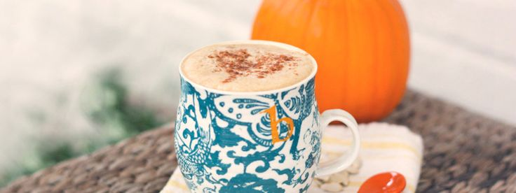 Healthy Pumpkin Smoothie Recipe from Luvo