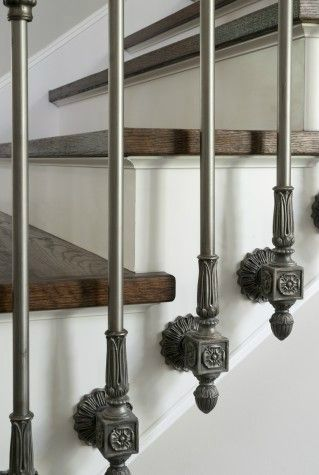 Iron Stair Rails by Lucas Eilers Design