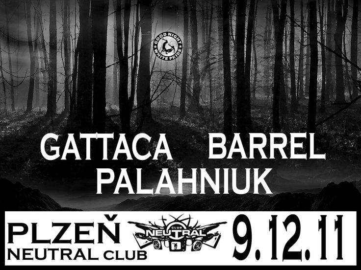 Gattaca, Barrel, Palahniuk (all CZ)