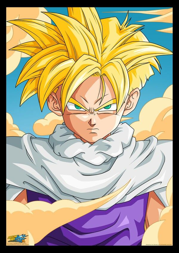 17 best images about dragon ball on pinterest android shirts and trunks - Dragon ball gohan super saiyan 4 ...
