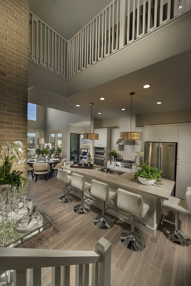 Plan 2 penthouse loft style living lucent shea homes for O kitchen mission valley