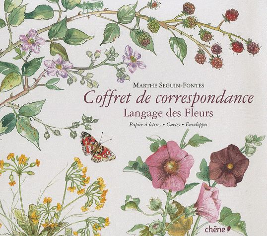 Langage des Fleurs - Coffret de correspondance | Langage ...