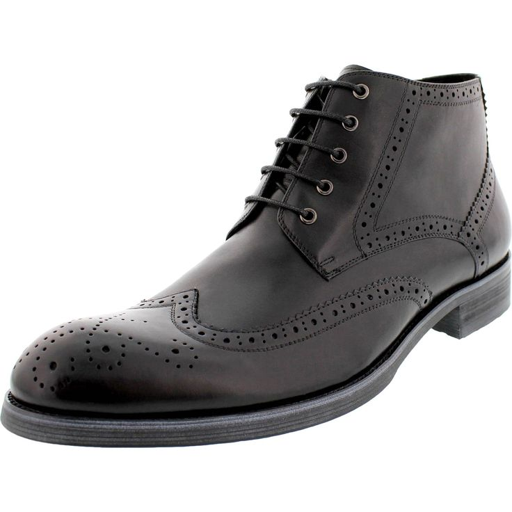 English Laundry Envy Wingtip Leather Chukka Boots