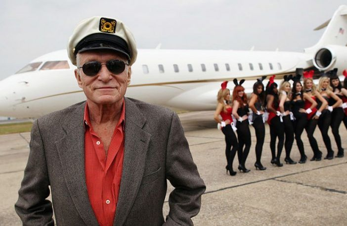Playboy founder Hugh Hefner passed away of natural causes on Wednesday, Sept. 27 at the famed Los Angeles Playboy mansion, reported the New York Times.  Hefner, 91, left behind his wife Crystal, and children Cooper, David, Marston, and Christie.
