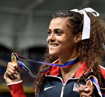 Sydney McLaughlin 2016 Rio Olympics, 17 yrs old!