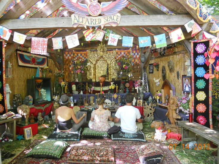 """Oregon country fair """"altared space"""""""