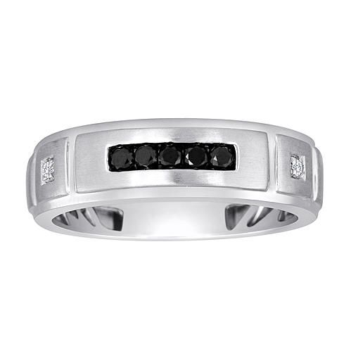 260 sears linked in love mens platine 15cttw diamond wedding band http - Sears Wedding Rings