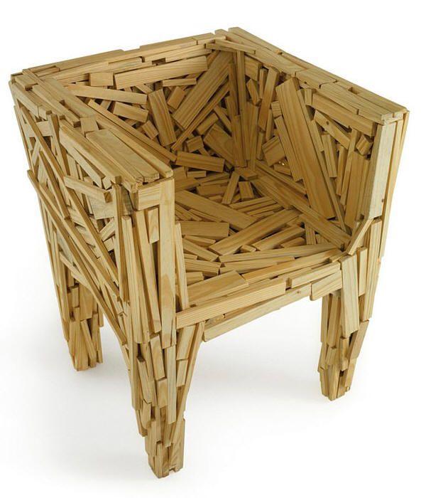Favela Chair by Fernando and Humberto Campana