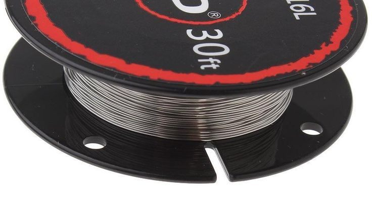 SS316L Heating Wire 10m Stainless Steel Clapton RDA RTA Rebuildable Coil Build