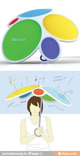Drum umbrella / iFunny :)